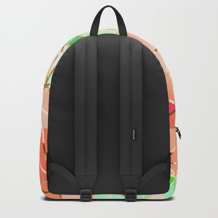 Rainbow Geometric pattern #2 Backpack