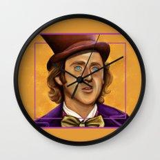 The Wilder Wonka Wall Clock