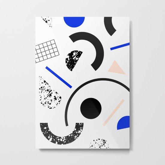 Pieces Metal Print