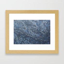Textura: Frozen Dew Framed Art Print
