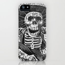 Skulls from the heap iPhone Case