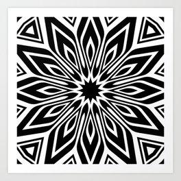 Black and White | Leyana series 3 Art Print