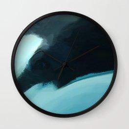 Killer Whale Eye Wall Clock