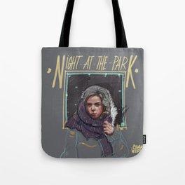 Night at the Park Tote Bag