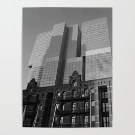 De Rotterdam   Rem Koolhaas OMA Architects Poster