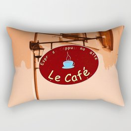 Le Cafe, France Rectangular Pillow
