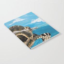 Sea Turtle By Noelle's Art Loft Notebook