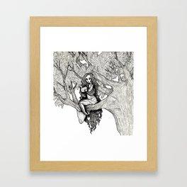 WOODLAND FAE Framed Art Print