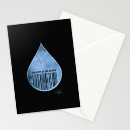 Water : Property of the People 2 Stationery Cards