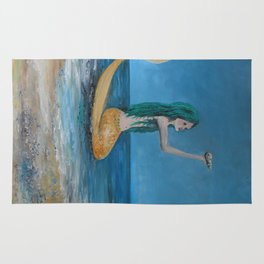 Mystical  Mermaid  Rug