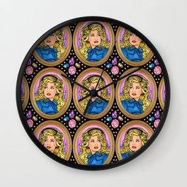 My Velveteen Queen Wall Clock