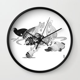 Tasmania Wall Clock