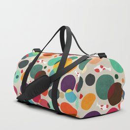 Lotus in koi pond Duffle Bag