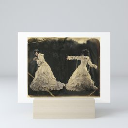 Torn Series: White Wedding Mini Art Print