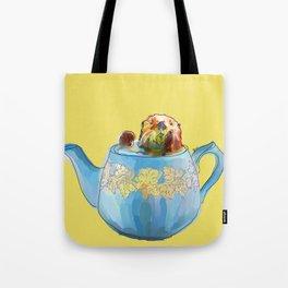 Otter Teapot Tote Bag