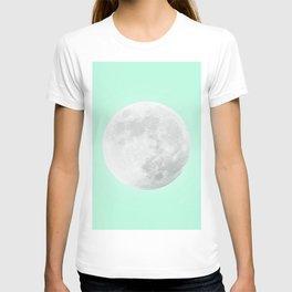 WHITE MOON + TEAL SKY T-shirt