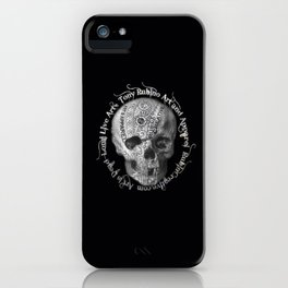 Rubino Metal Skull iPhone Case