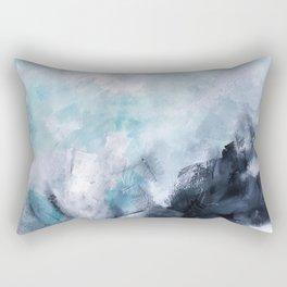 Wave Form Rectangular Pillow