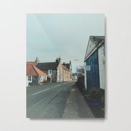 Culross Street - Fife Metal Print