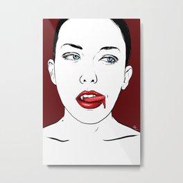 Vampire Lady #2 Metal Print