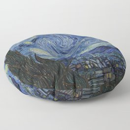 THE STARRY NIGHT - VAN GOGH Floor Pillow