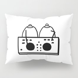 DJ Boobies Party On Pillow Sham