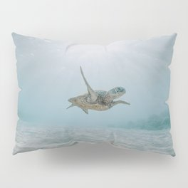 sea turtle iii Pillow Sham