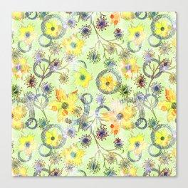 Flower waltz. Canvas Print