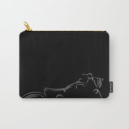 Royal enfield illustration Carry-All Pouch