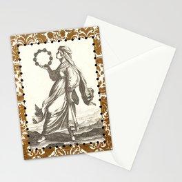 Tambourine Girl Stationery Cards