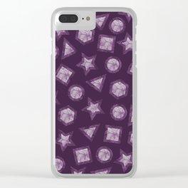 GEM#3 Clear iPhone Case