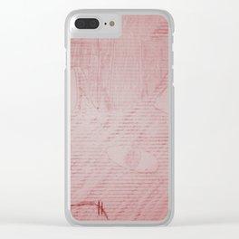Graffiti Fat Cat 5 Clear iPhone Case