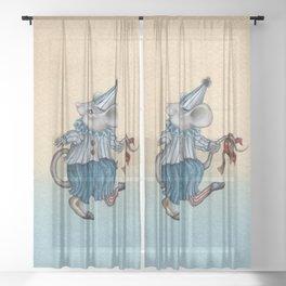 Tiny Tim Sheer Curtain