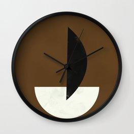 Geometric Abstract Art #5 Wall Clock
