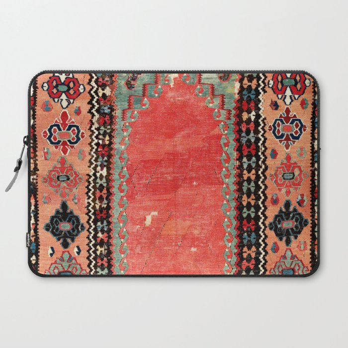 Sivas  Antique Cappadocian Turkish Niche Kilim Print Laptop Sleeve by Society6