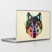 child Laptop & iPad Skins featuring Wolf Child by Zach Terrell
