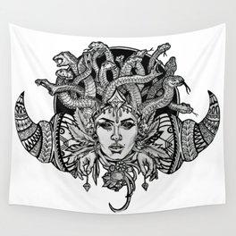 Medusa Mandala Wall Tapestry