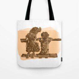 Childhood Friendships Tote Bag