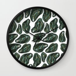 Forest Oysters Wall Clock