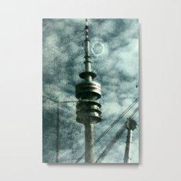 Munich television tower Metal Print