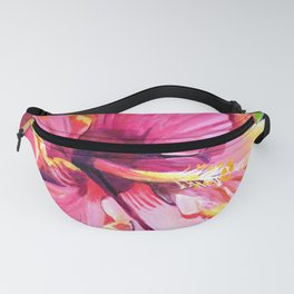 Tropical Bliss Hibiscus Fanny Pack