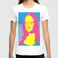 mona lisa T-shirts featuring Mona Lisa by Becky Rosen