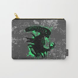 Alien Acid Green Carry-All Pouch
