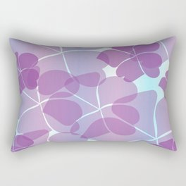 Purple Passion Rectangular Pillow