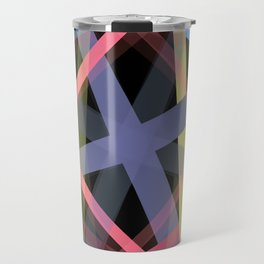 Colors in the Night Travel Mug