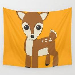 Forest Deer Nursery Set Wall Tapestry