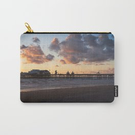 Sunset At Blackpool North Pier Carry-All Pouch
