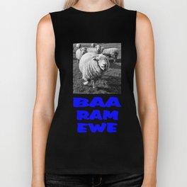 Baa Ram Ewe  Biker Tank