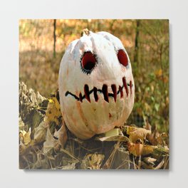 Fancy Pumpkin Metal Print