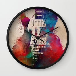 guitar art #guitar Wall Clock